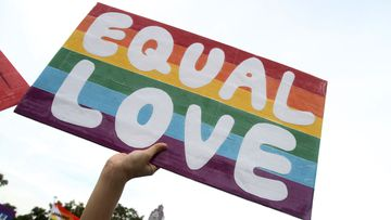 Taiwan is set to become the first Asian country to legalise same-sex marriage. (AAP)