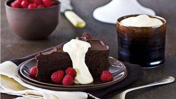 Choc fudge cake