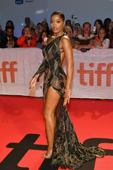 "TORONTO, ONTARIO - SEPTEMBER 07:  Keke Palmer attends the ""Hustlers"" premiere during the 2019 Toronto International Film Festival at Roy Thomson Hall on September 07, 2019 in Toronto, Canada. (Photo by Amy Sussman/SHJ2019/WireImage,)"