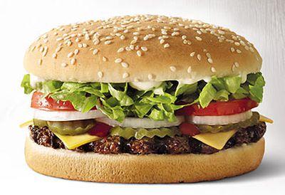10. Hungry Jack's (459 serving size / 2211 kJs)