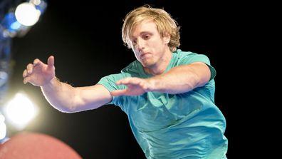 Josh O'Sullivan on Australian Ninja Warrior