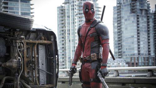 """Ryan Reynolds in a scene from the film, """"Deadpool."""" (AP)"""