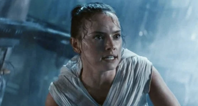 Daisy Ridley plays the lead role of Rey.