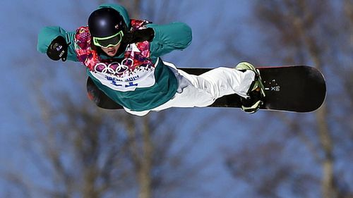 James looks to be a gold medal hopeful when he comes up against the sport's poster boy, American Shaun White (AAP).