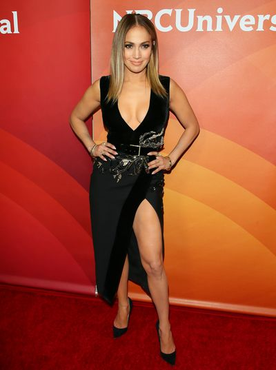 <p><strong>Jennifer Lopez 2</strong></p> <p>Jennifer Lopez at the 2017 NBC Summer Press Day on March 20, 2017 in Elie Saab.</p>