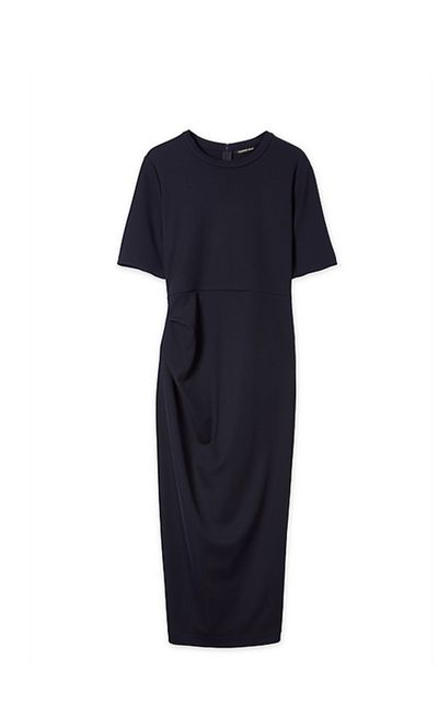 """<strong>#1 An office-appropriate LBD</strong><br /><a href=""""http://www.countryroad.com.au/shop/woman/clothing/dresses/tuck-column-dress-60180097"""" target=""""_blank"""">Tuck Column Dress, $179, Country Road</a>"""