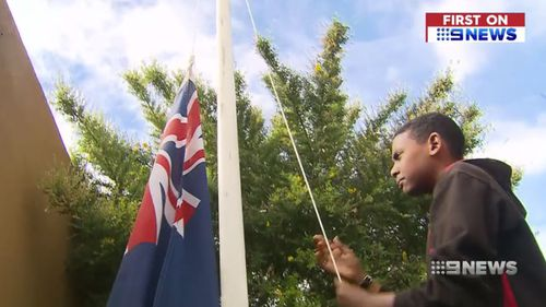 The South Australian government's new scheme will let schools apply for flagpole grants.