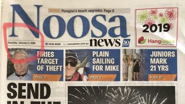 Noosa News spoils New Year's Eve for readers.