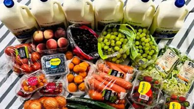 Qld mum of 16 shares grocery tips on Today Extra