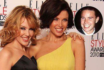 Gorgeous siblings Kylie and Dannii Minogue also have a non-famous brother - Brendan - who's a bit of a looker.