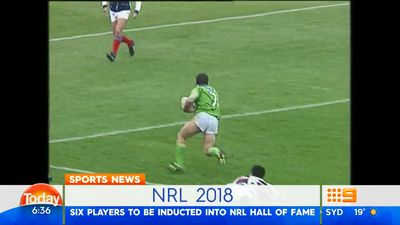 Six NRL players named for hall of fame