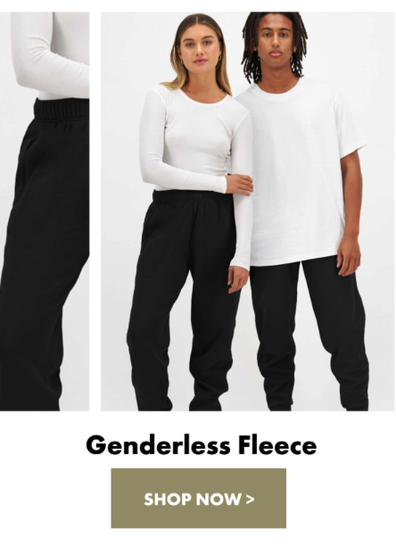 Bonds releases genderless clothing line