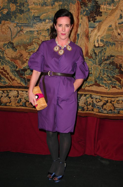 Fashion designer Kate Spade has died at her New York City apartment overnight. Picture: AAP