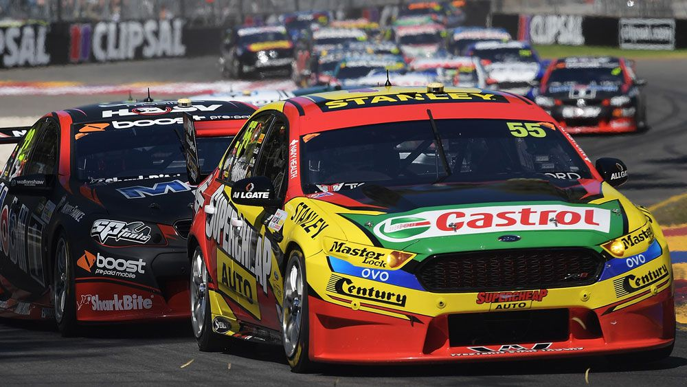 Chaz Mostert emerged victorious from the Supercars round at the Australian Grand Prix. (Getty Images)