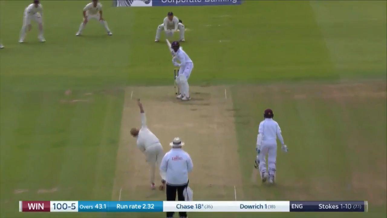 Stokes destroys West Indies