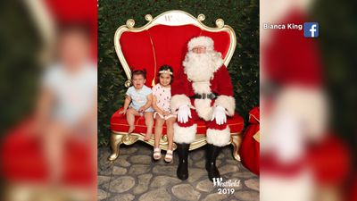 Hilarious Santa photo fails