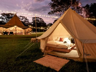 Kings Canyon Resort is Australia's newest glamping
