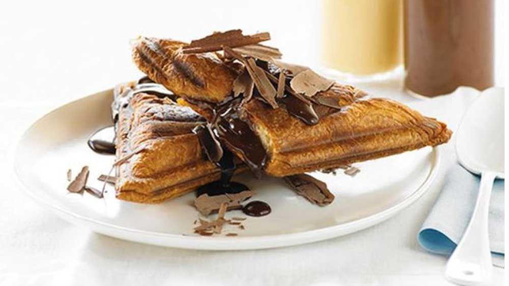 Hot chocolate jaffle