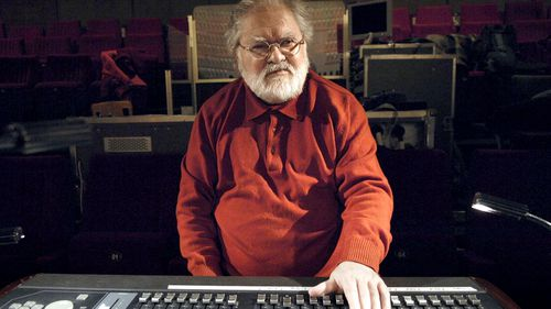 French electronic composer Pierre Henry. (AFP)