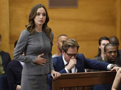 Eliza Dushku and Michael Weatherly on 'Bull'