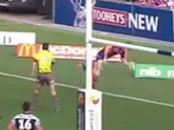 Knights score off 'play of the century'