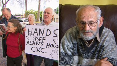 Pensioner 'on $20 a day' after council tries to sell house
