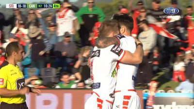 St George Illawarra fullback Matt Dufty breathes NRL fire in Dragons' win at Mudgee