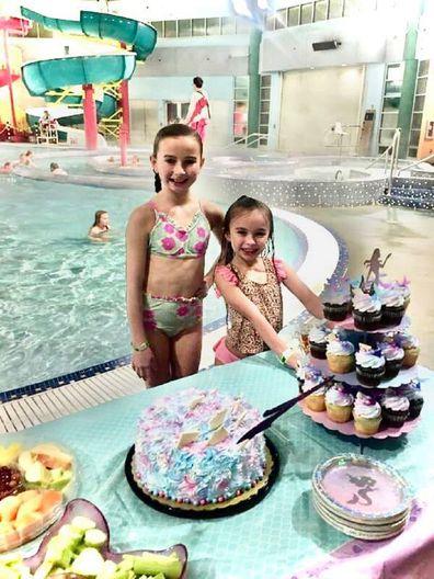 Girls pool birthday