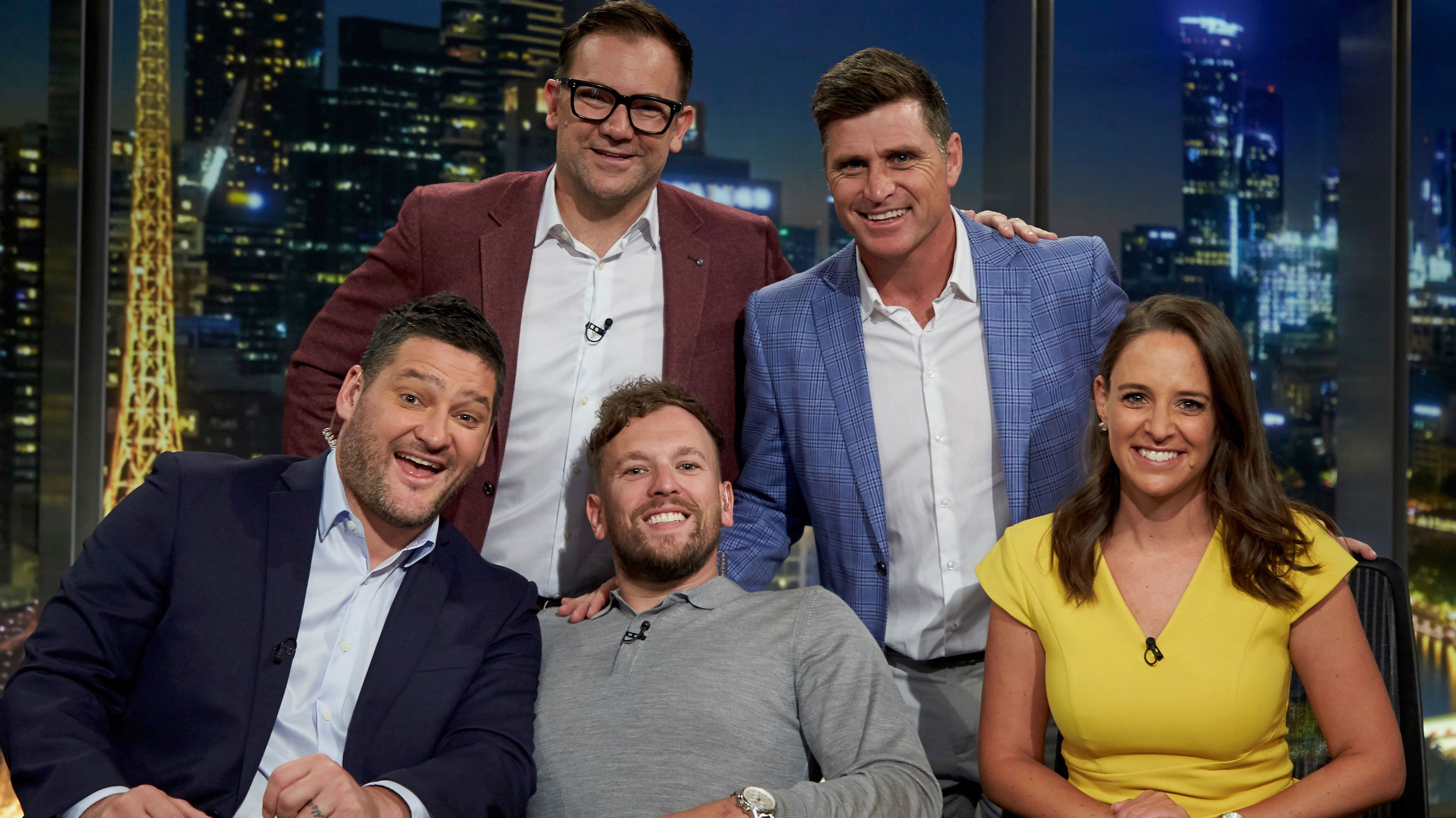AFL Footy Show line-up