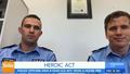 Hero WA cops who saved boy from burning house speak