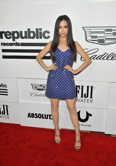 Sofia Carson at the VMA after party hosted by Republic Records