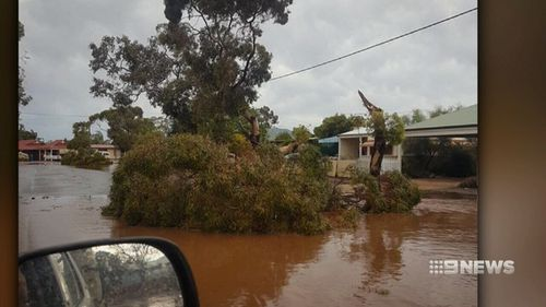 It's been a stormy weekend for Western Australia. (9NEWS)