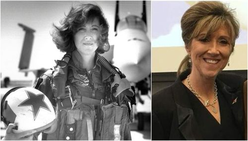 Pilot Tammie Jo Shults was in the air force before becoming a Southwest Airlines pilot.