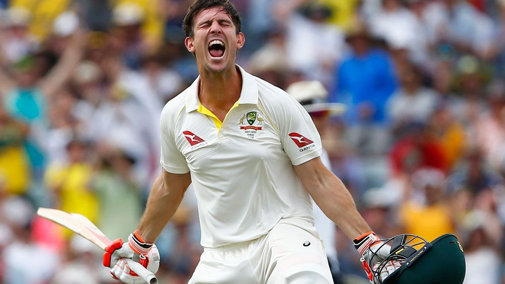 Ashes 2017: Mitch Marsh betters his dad with big knock at WACA