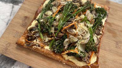 Jane de Graaff makes vegetable, goat cheese and eschallot cheats tart