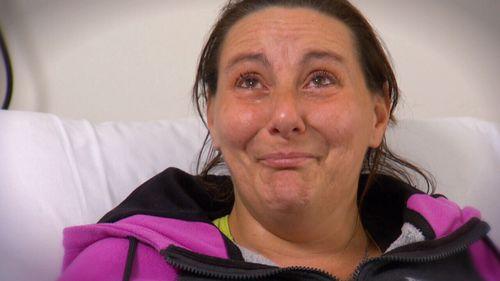 Bec Larrigan was injured in the Flinders Street crash.