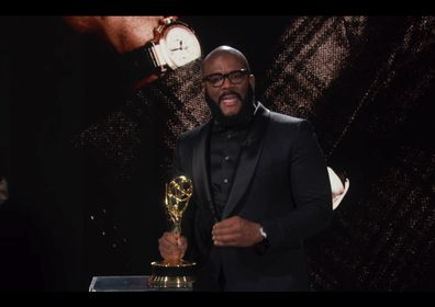 Tyler Perry wins Governor's Award at the Emmys.