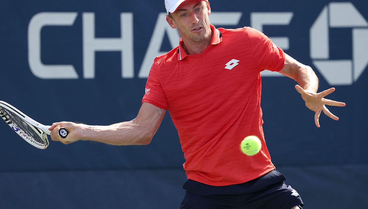 John Millman is out of the US Open in the second round.