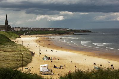 Tynemouth Longsands in North Tyneside
