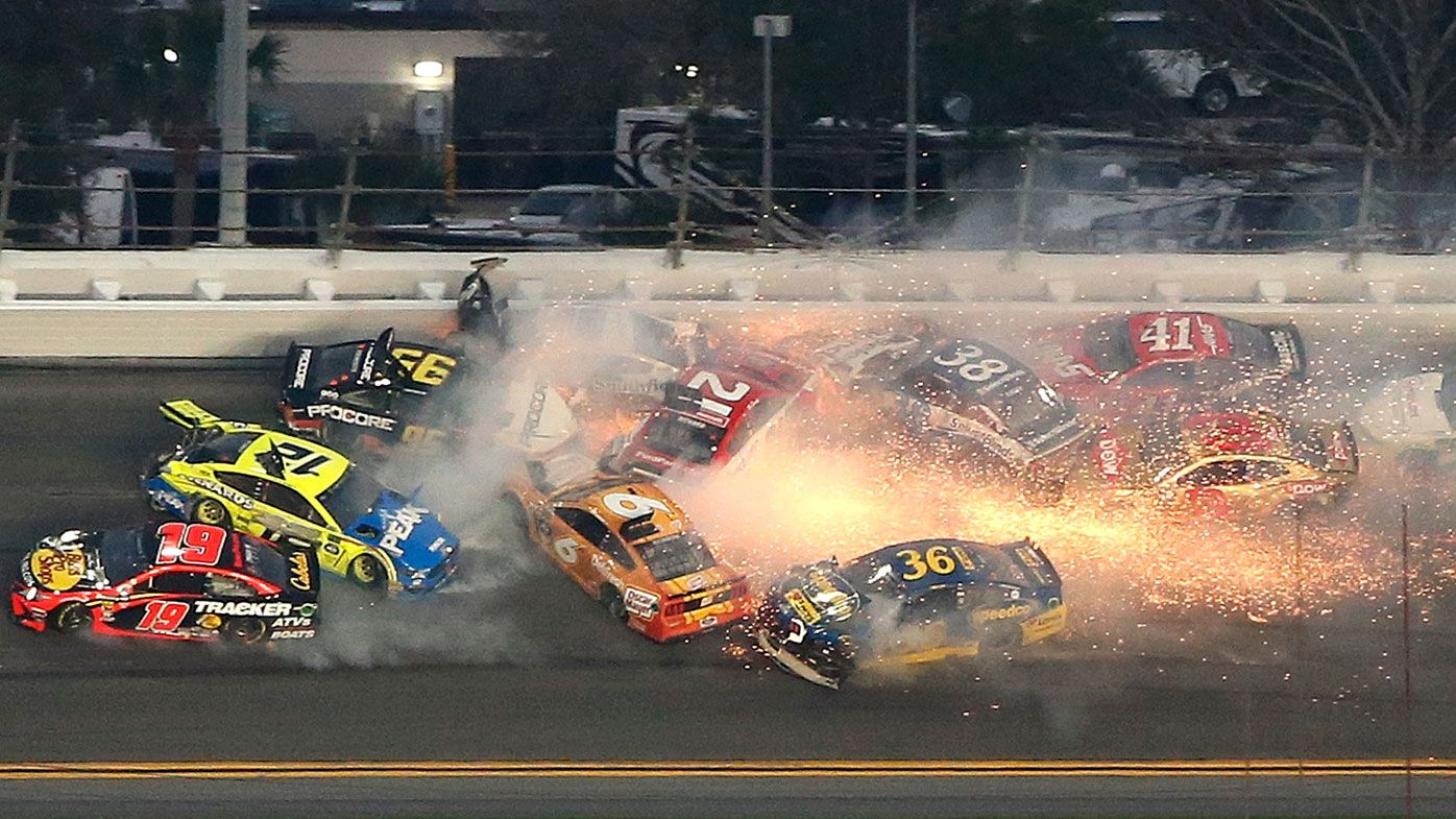 21 cars involved in massive crash during Daytona 500