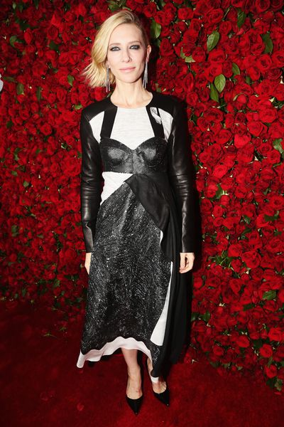 Cate Blanchett in Louis Vuitton at the 70th Annual Tony Awards in New York, June 12, 2016