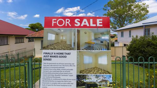 Declining house prices.