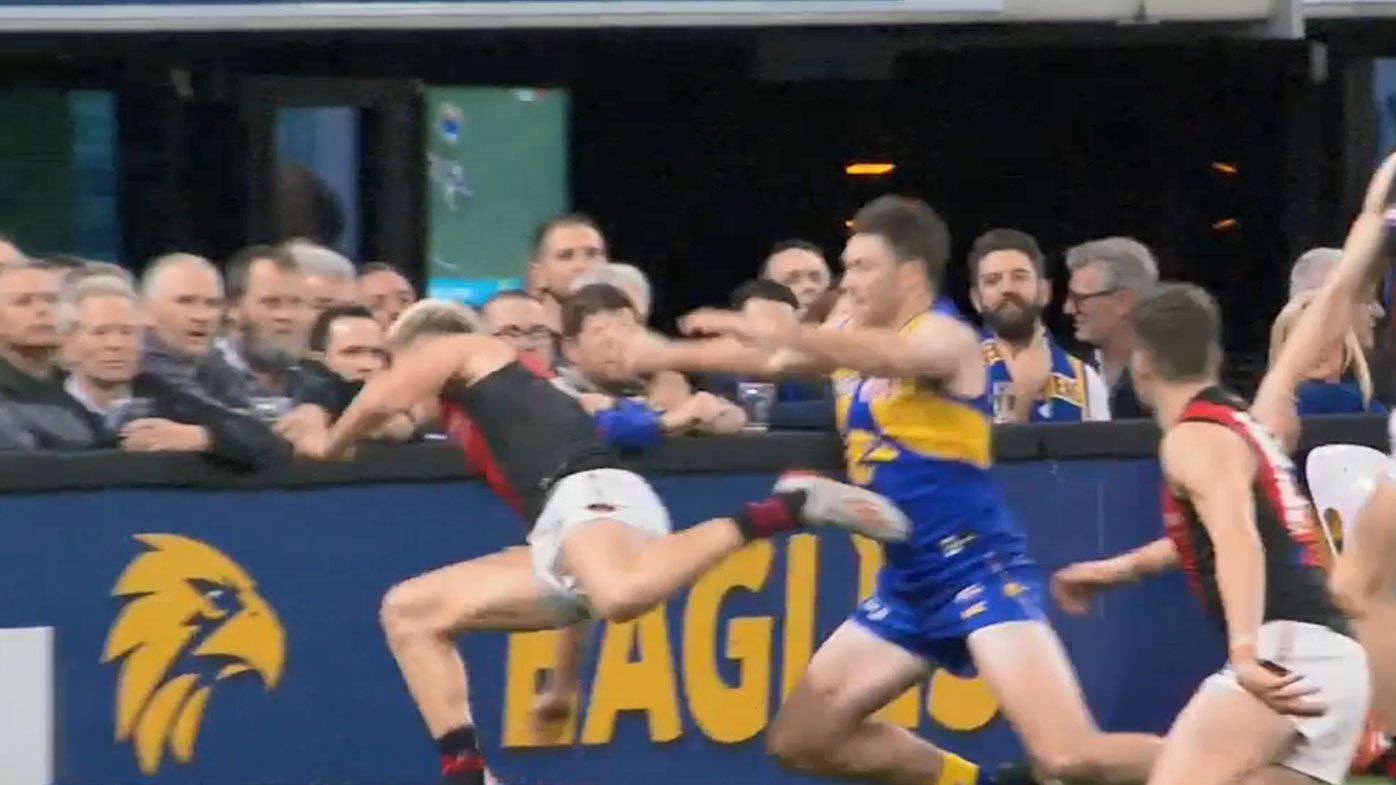 West Coast Eagles star Jeremy McGovern handed one-match suspension after Guelfi push