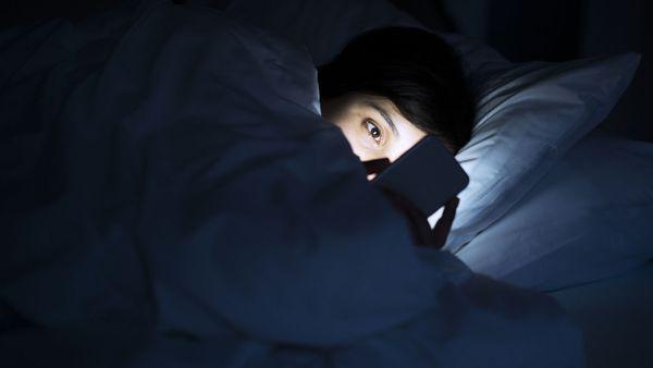 Nighttime phone use