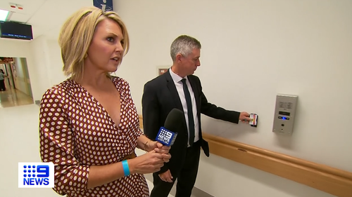 Georgie Gardner was granted exclusive access inside the COVID-19 ward at Westmead Hospital.