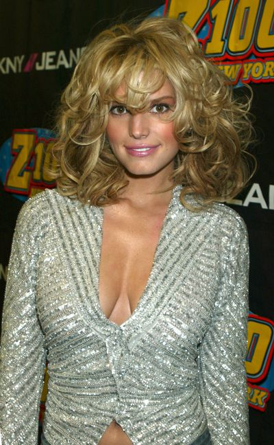 Jessica Simpson at Z100's Jingle Ball  in New York, December, 2004