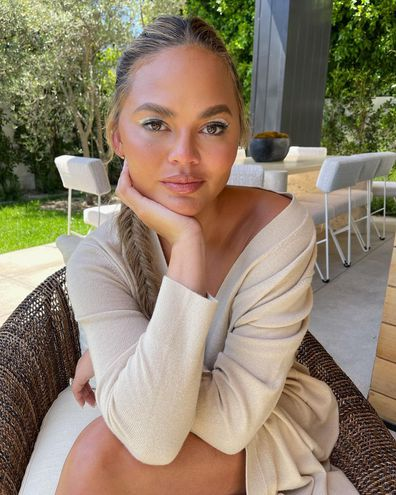 Chrissy Teigen vows to mind her own business following cyberbullying scandal involving Courtney Stodden.