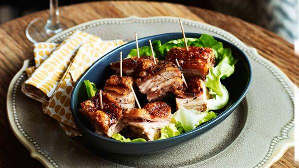 Lemon & thyme pork belly