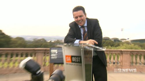 The new poll ranked Mr Xenophon's party third. (9NEWS)