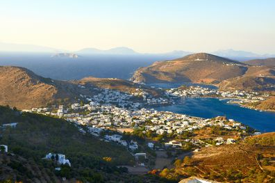 With breath-taking views like this it's no wonder celebrities like Kate Moss, Julia Roberts, Goldie Hawn and Richard Gere been known to travel to the isolated island of Patmos.
